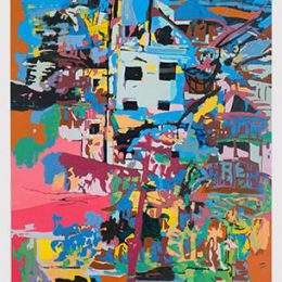 Kristopher Benedict: TREE STREETS @David Richard Gallery, New York  - GalleriesNow.net