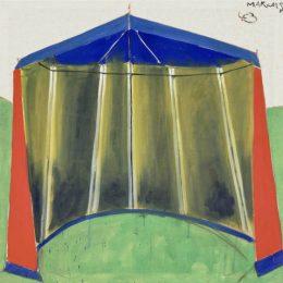 Marküs Lupertz: Tent Paintings @Michael Werner Gallery, Mayfair, London  - GalleriesNow.net