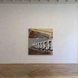 Nate Lowman: Elliptical Machine Gun @Massimo De Carlo, Milan / Belgioioso, Milan  - GalleriesNow.net