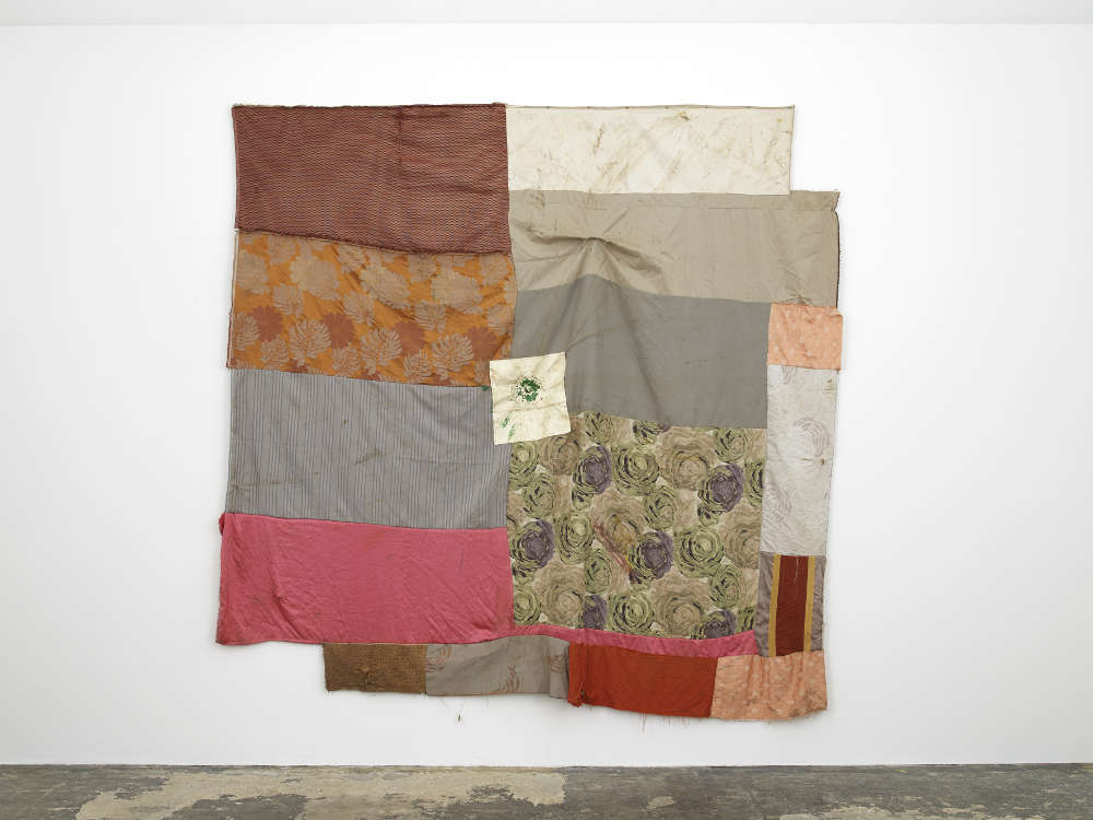 Ruth Proctor, Freedom of Movement (Aourir), 2018. Mixed fabrics 290 x 280 cm. Courtesy of the artist and Hollybush Gardens. Photo: Andy Keate