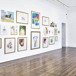 Karen Kilimnik @Sprüth Magers, Grafton St., London  - GalleriesNow.net