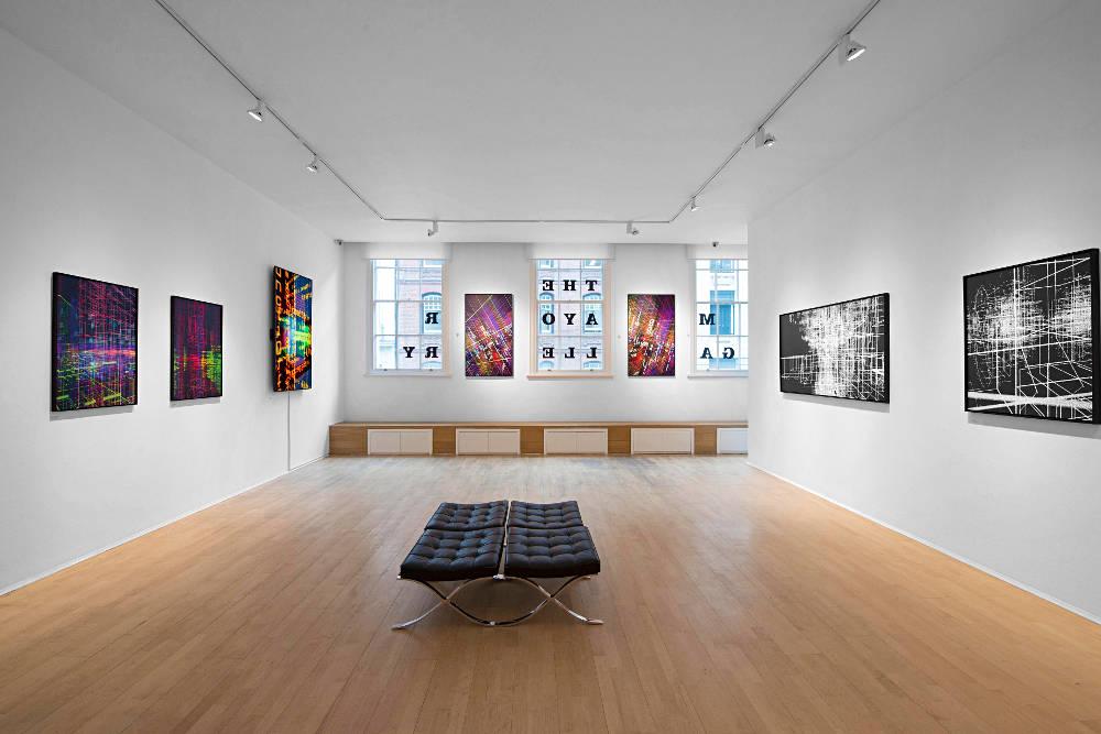 The Mayor Gallery Miguel Chevalier 4