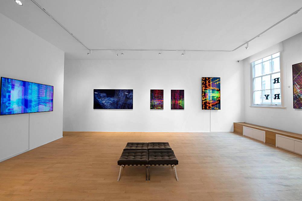 The Mayor Gallery Miguel Chevalier 5