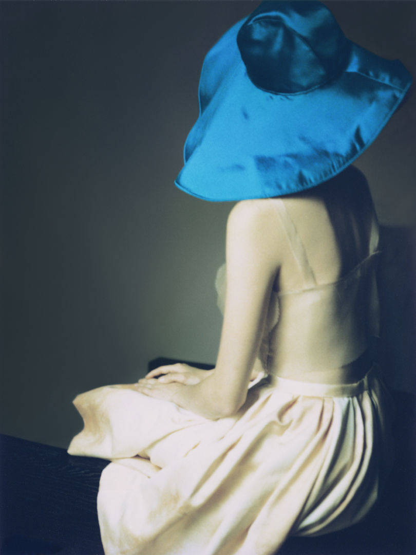 Erik MADIGAN HECK (*1983, United States), The Blue Hat, 2007. Polaroid Transfer Print 152.4 x 114.3 cm (60 x 45 in.) Edition of 9, plus 2 AP