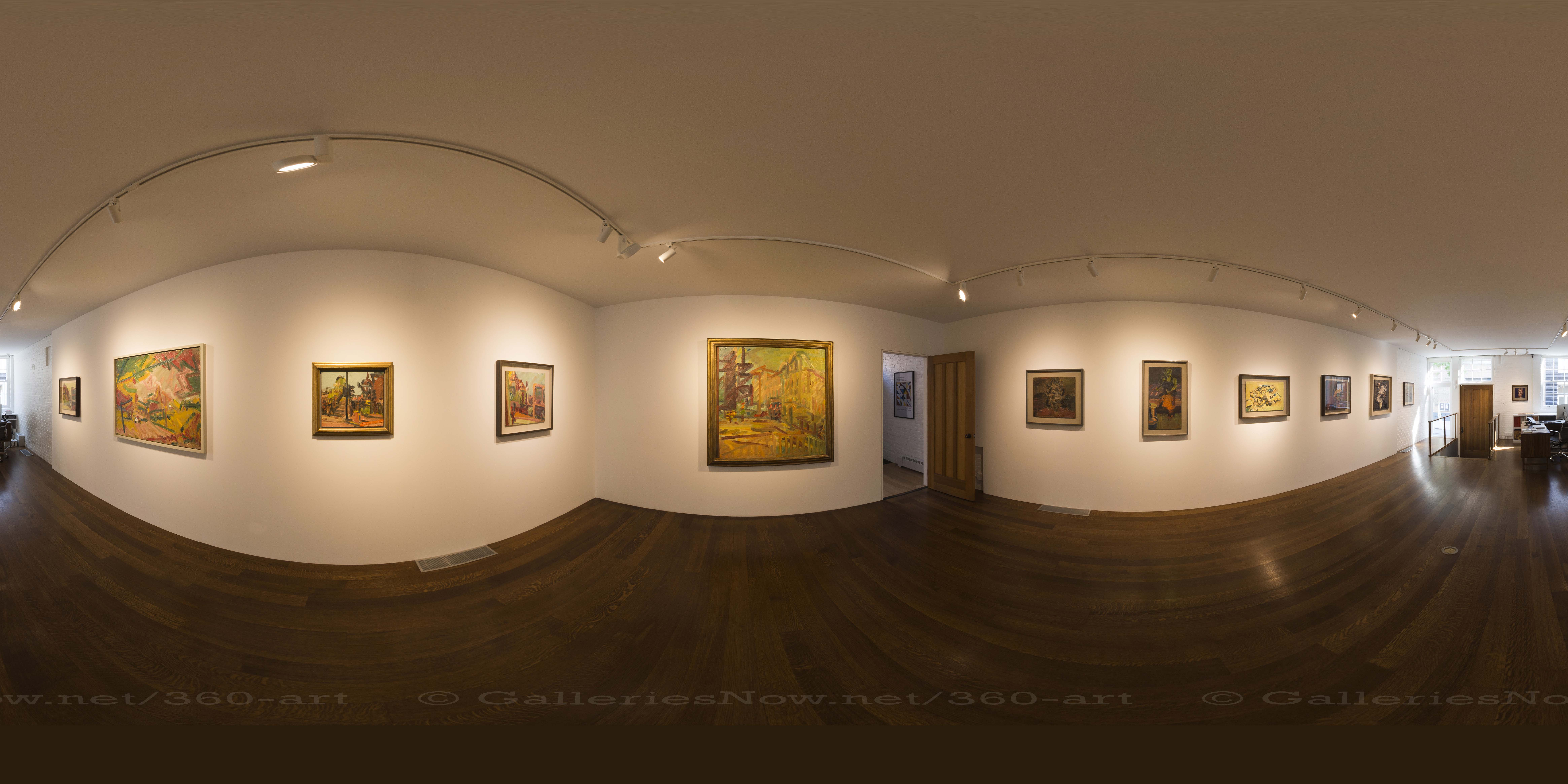 Exclusive 360 – Frank Auerbach: Landscapes and Portraits at