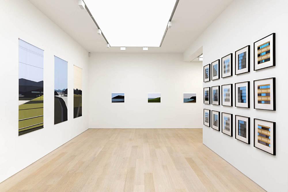 Alan Cristea Gallery Julian Opie 1
