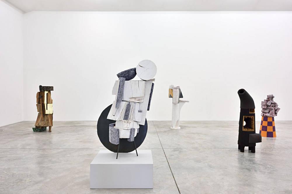 Almine Rech Gallery Arlene Shechet 1