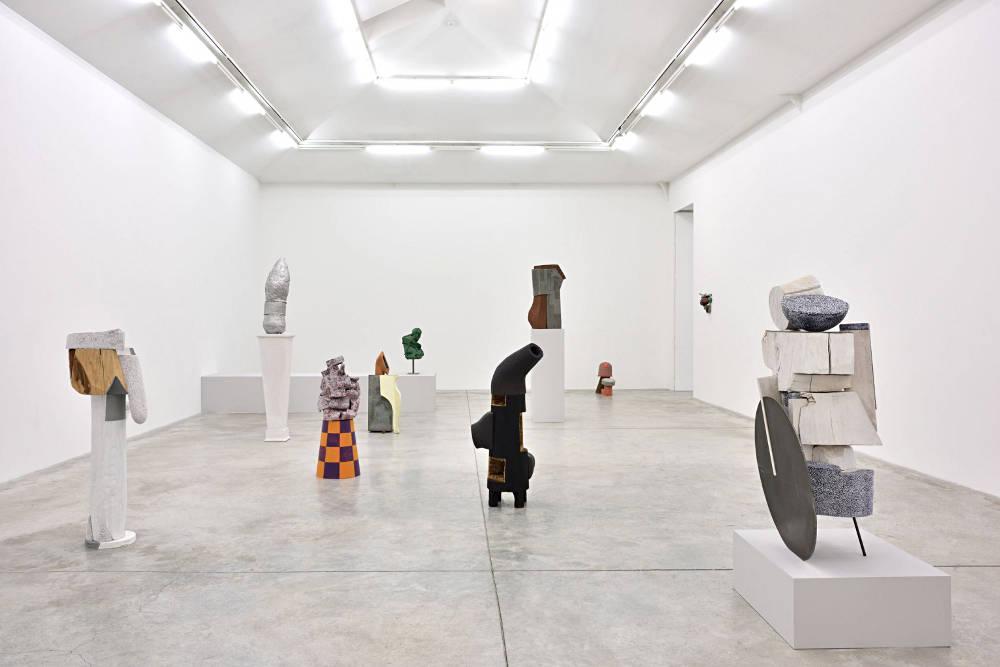 Almine Rech Gallery Arlene Shechet 2