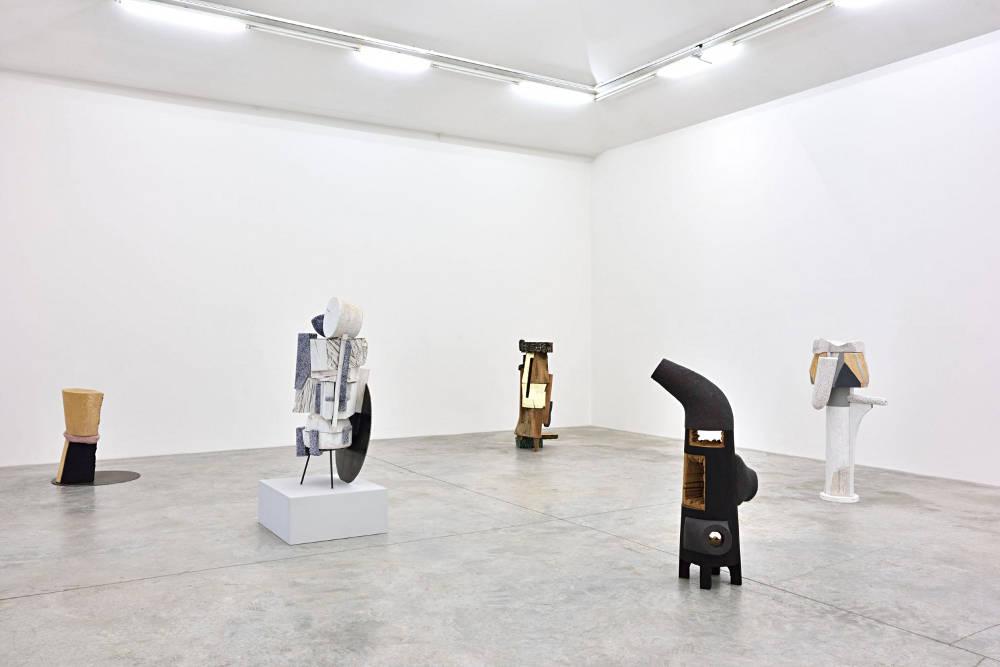 Almine Rech Gallery Arlene Shechet 3