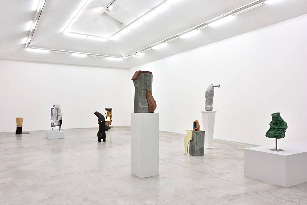 Almine Rech Gallery Arlene Shechet 4