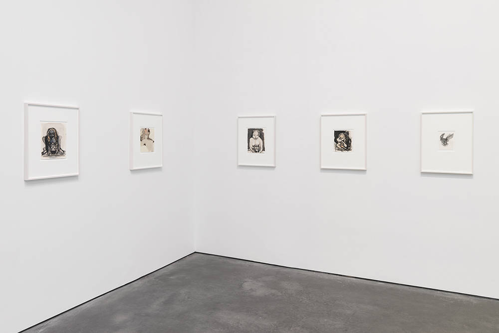 David Zwirner 20th St Marlene Dumas 5