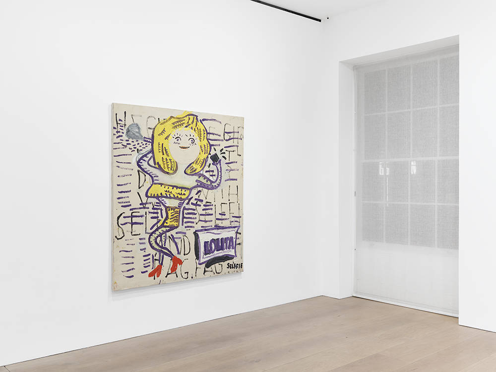 David Zwirner London Rose Wylie 2018 5