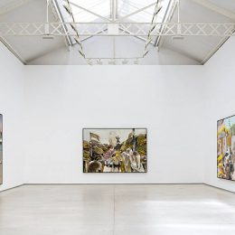 Adrian Ghenie: Jungles in Paris @Galerie Thaddaeus Ropac, Marais, Paris  - GalleriesNow.net