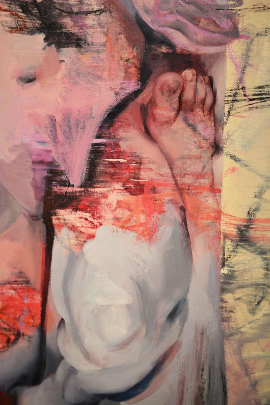 Jenny Saville Vis and Ramin II Detail