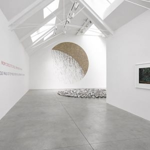 Richard Long: Circle to Circle @Lisson Gallery, London  - GalleriesNow.net