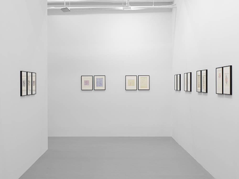 Lisson Gallery New York 10th Av Dom Sylvester Houedard 1