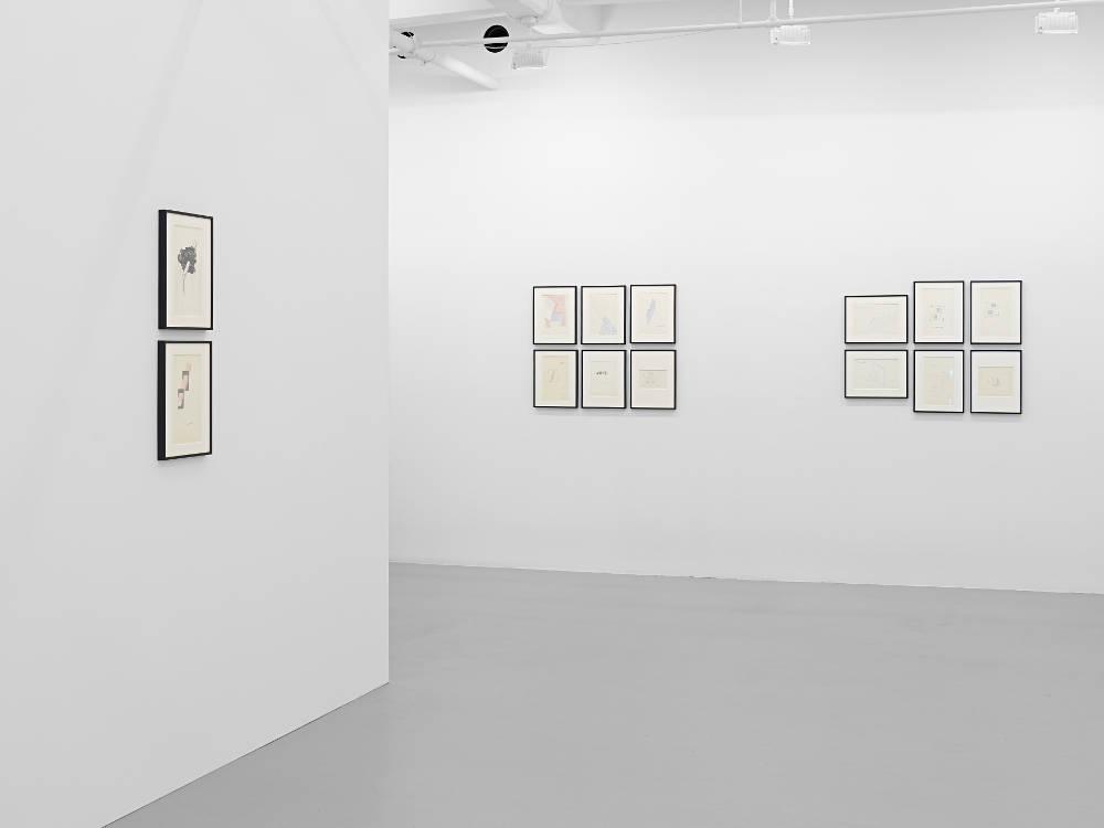 Lisson Gallery New York 10th Av Dom Sylvester Houedard 2