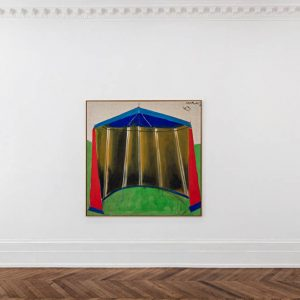 Markus Lüpertz: Tent Paintings, 1965 @Michael Werner Gallery, Mayfair, London  - GalleriesNow.net