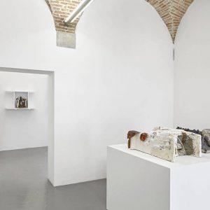 Matthew Peers: rough-cast @SpazioA, Pistoia  - GalleriesNow.net