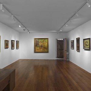 Frank Auerbach: Landscapes and Portraits @Timothy Taylor, New York  - GalleriesNow.net