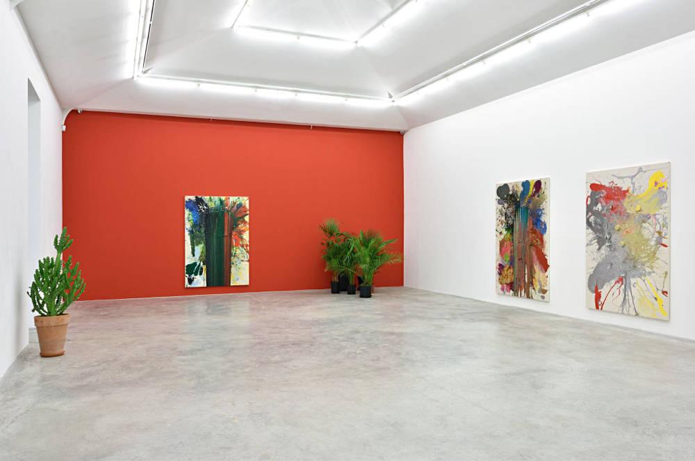 Almine Rech Gallery Paris John M Armleder 1