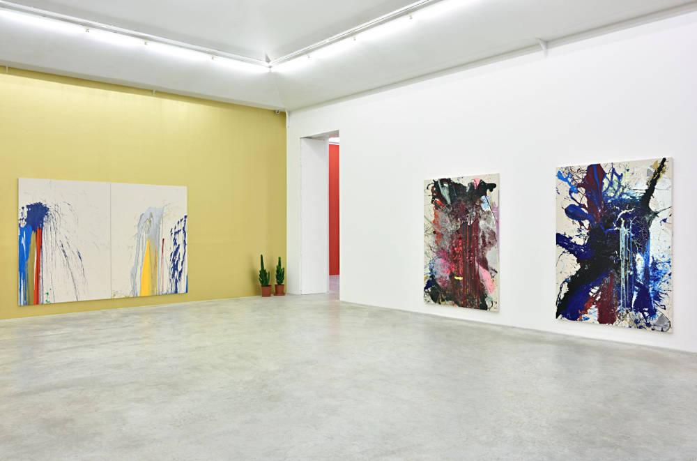 Almine Rech Gallery Paris John M Armleder 3