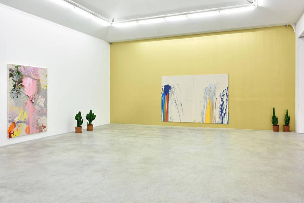 Almine Rech Gallery Paris John M Armleder 5