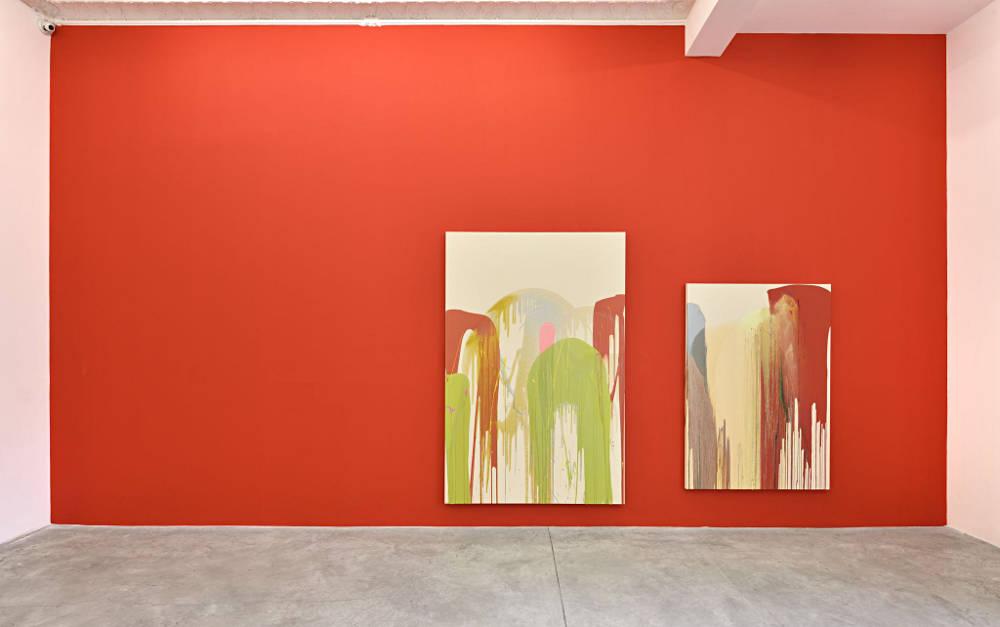 Almine Rech Gallery Paris John M Armleder 6