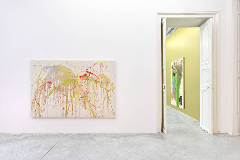 Almine Rech Gallery Paris John M Armleder 7