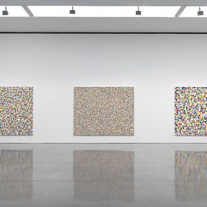 Damien Hirst: Colour Space Paintings @Gagosian West 24th St, New York  - GalleriesNow.net