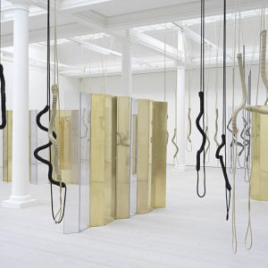 Leonor Antunes: a thousand realities from an original mark @Marian Goodman Gallery, London  - GalleriesNow.net