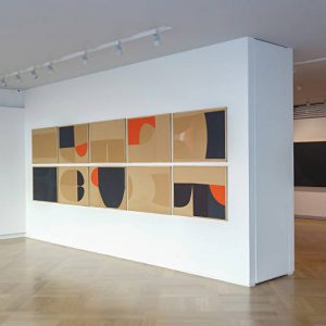 Mazzoleni Summer Show 2018 - Burri: Cellotex and Multiples - Italian Post-War Masters @Mazzoleni, London  - GalleriesNow.net