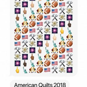 Rob Pruitt: American Quilts 2018 @Massimo De Carlo, London, London  - GalleriesNow.net
