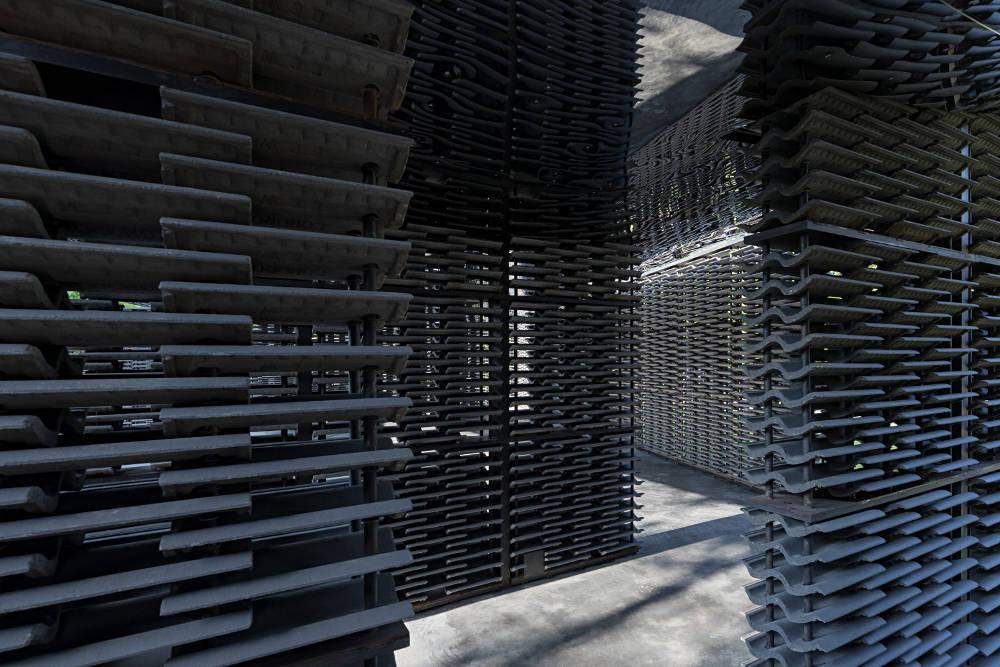 Serpentine Pavilion 2018 designed by Frida Escobedo at Serpentine