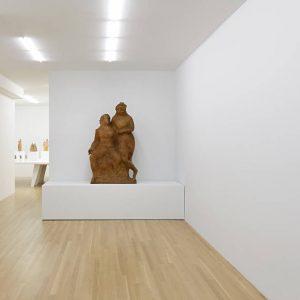 Elie Nadelman: Papier-mâché @Galerie Buchholz, New York  - GalleriesNow.net