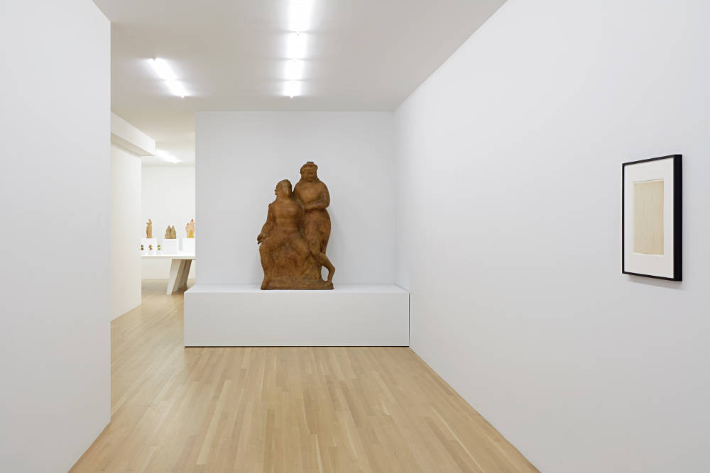 Galerie Buchholz Elie Nadelman 1