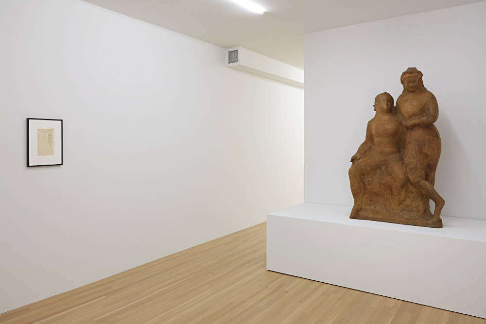 Galerie Buchholz Elie Nadelman 2