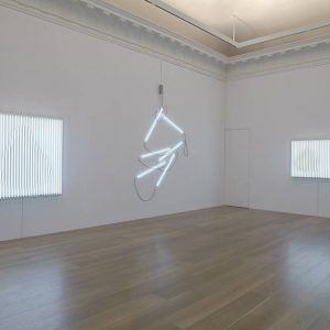 Neon in Daylight: François Morellet @Lévy Gorvy, New York  - GalleriesNow.net