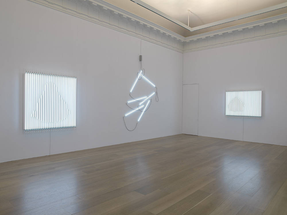 Levy Gorvy New York Neon in Daylight Francois Morellet 1