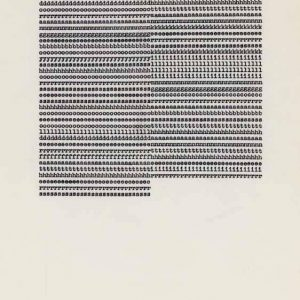 Carl Andre: Works on Paper @Massimo De Carlo, Milan, Milan  - GalleriesNow.net