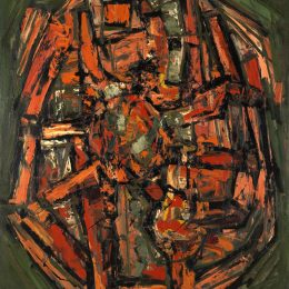 Frank Avray Wilson: Abstract Expressionist Paintings 1953 - 63 @Whitford Fine Art, London  - GalleriesNow.net