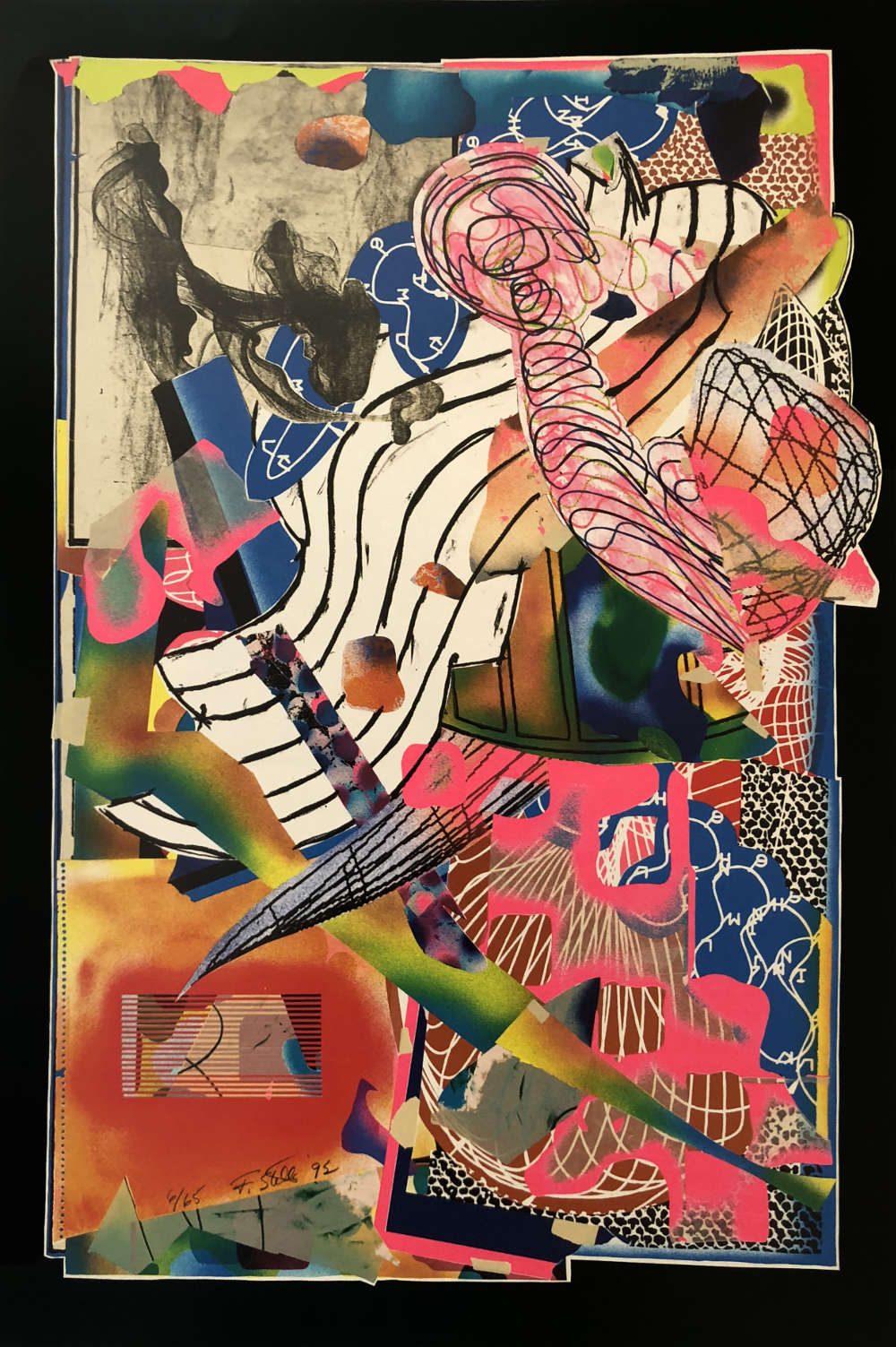 Frank Stella The Candles