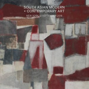 South Asian Modern & Contemporary Art @Christie's New York, New York  - GalleriesNow.net