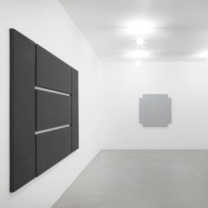 Alan Charlton: Grey Paintings @A arte Invernizzi, Milan  - GalleriesNow.net