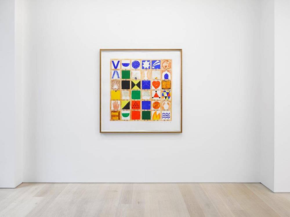 Alan Cristea Gallery Joe Tilson at 90 3