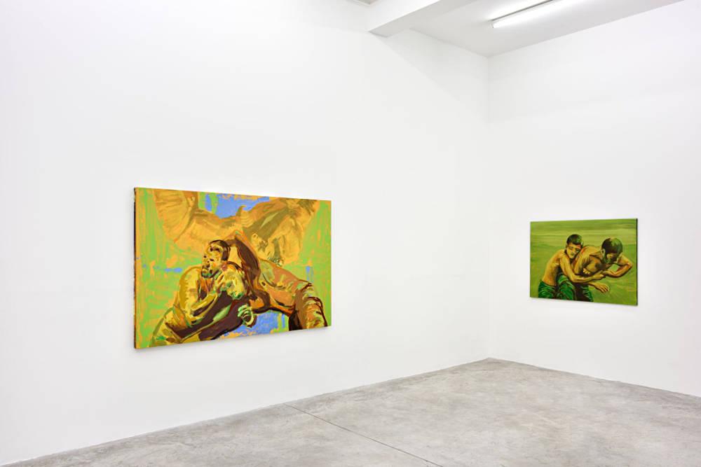 Almine Rech Gallery Paris Claire Tabouret 2