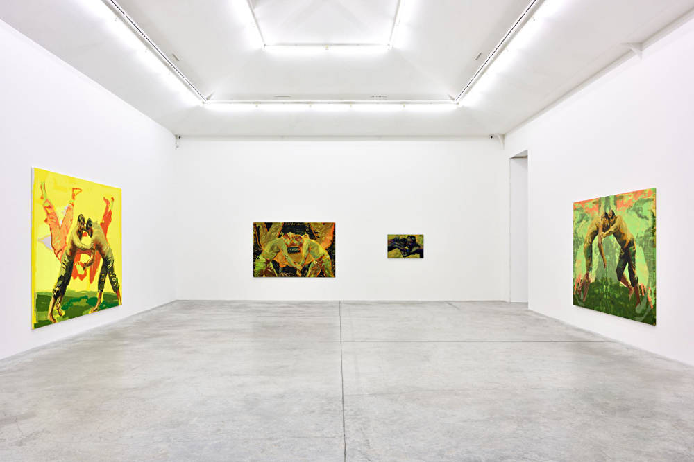 Almine Rech Gallery Paris Claire Tabouret 3