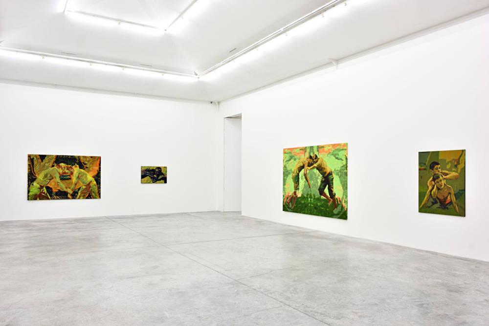 Almine Rech Gallery Paris Claire Tabouret 4
