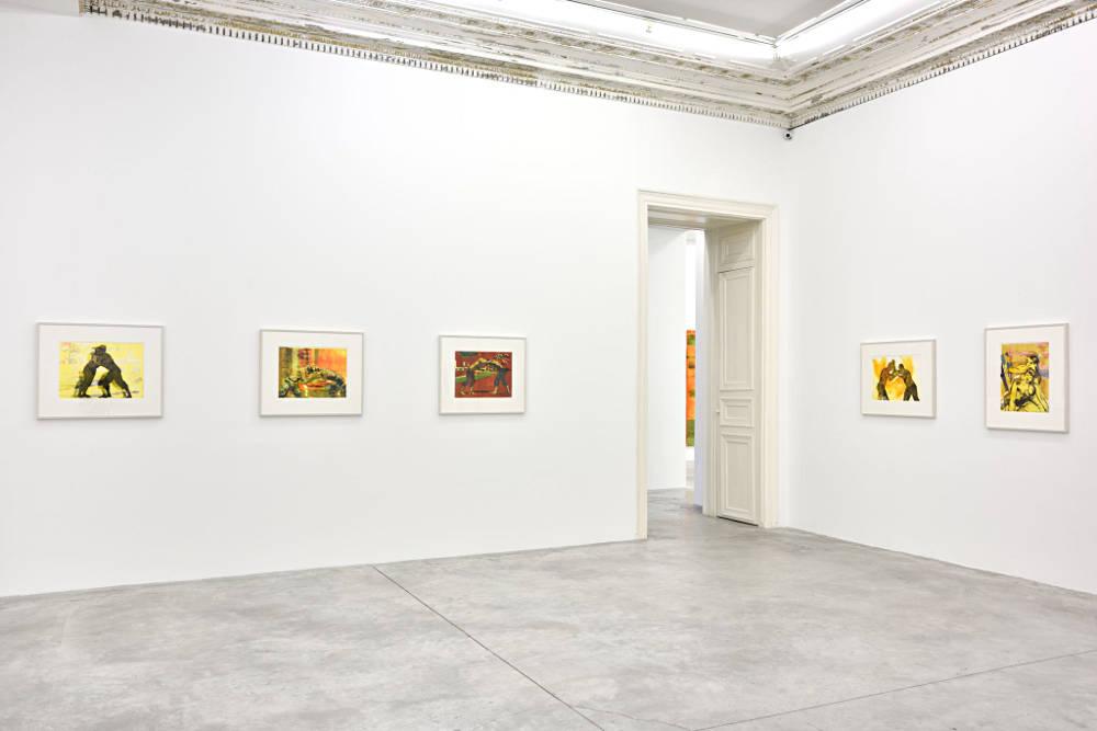 Almine Rech Gallery Paris Claire Tabouret 5