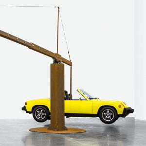 Chris Burden: Measured @Gagosian Britannia St, London  - GalleriesNow.net